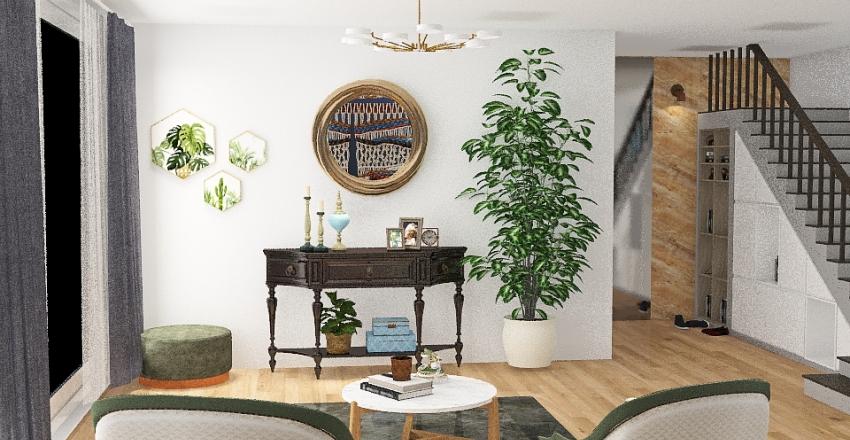 Reception - villa Interior Design Render