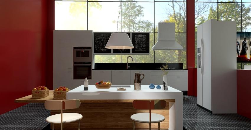 Meditterean Interior Design Render