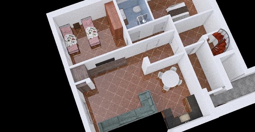 Impianto Elettrico SanSalvatorePianoT Interior Design Render