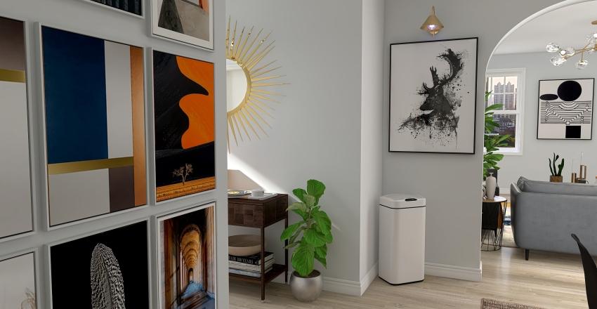 NYC Dream Apartment Interior Design Render