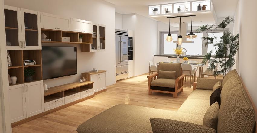 Via Domiziano - rendering Interior Design Render