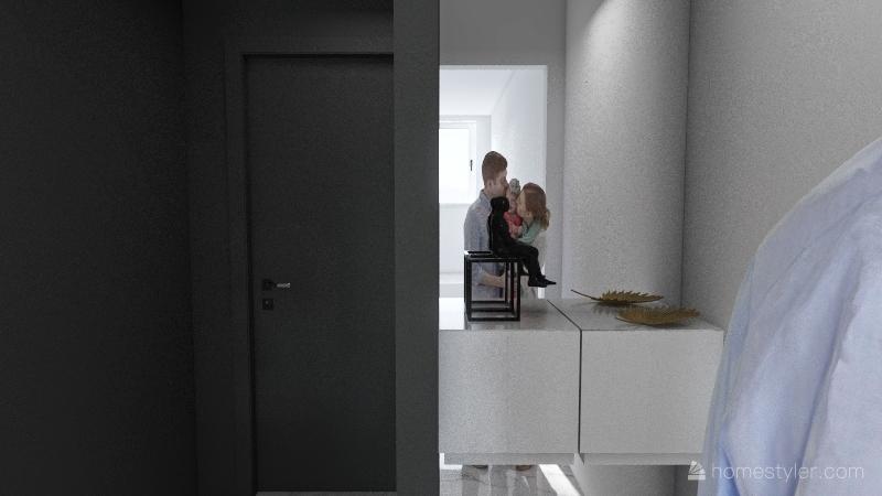 dani house Interior Design Render