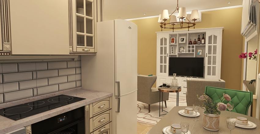 Flat for Layla Interior Design Render