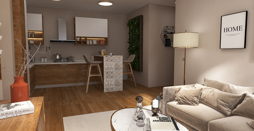 Model #1 Interior Design Render