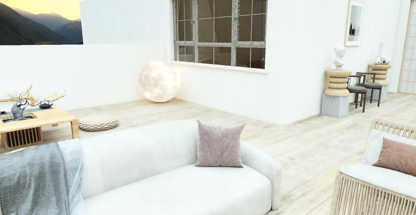 Sahara house Interior Design Render