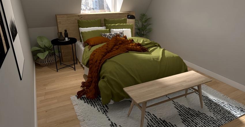 Vikis Schlafzimmer Interior Design Render