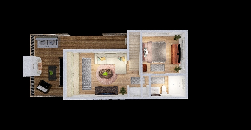 Champion Athens Loft 2 Interior Design Render