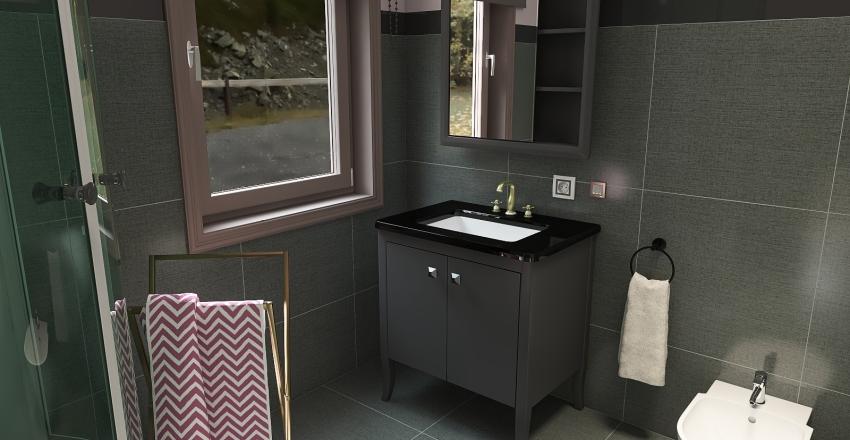 appartamento 90 mq Interior Design Render