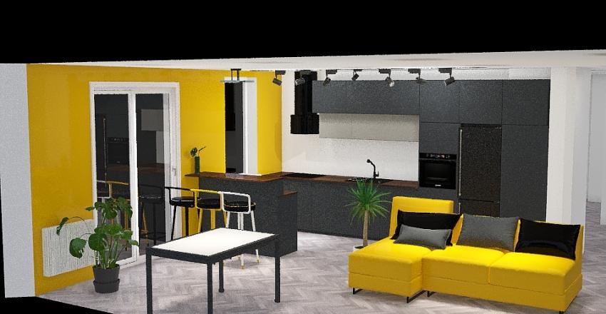 Łazienka Lastryko Interior Design Render
