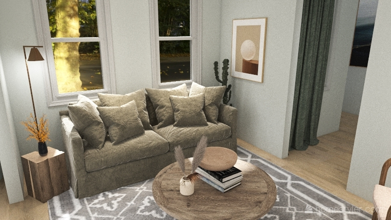 1503 House Interior Design Render