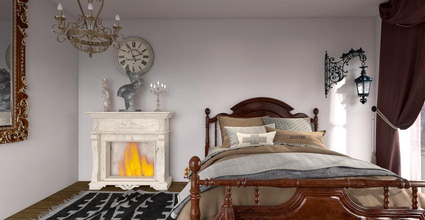 Retro Dreams Collection Interior Design Render