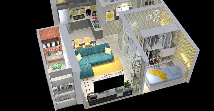 Вариант 1 Interior Design Render