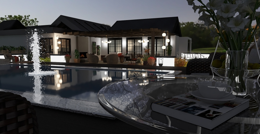 Home Oasis Interior Design Render
