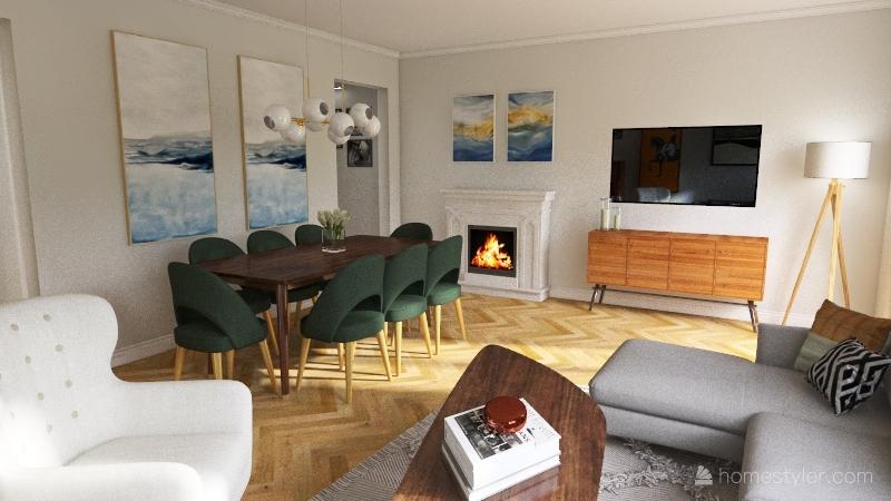 Szamotulska Interior Design Render