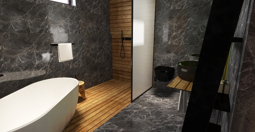 House for young people Interior Design Render