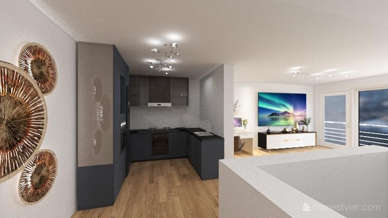 Umbau Espertstraße (Reduzierte Version) Interior Design Render