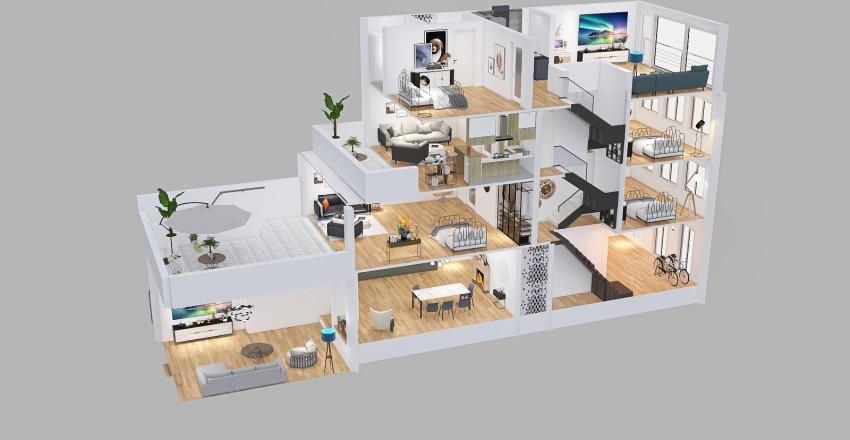 Umbau Espertstraße Interior Design Render