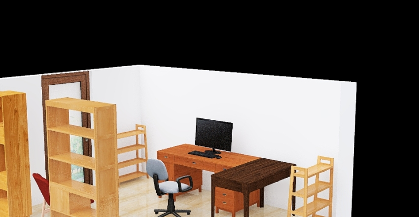 v2_Studio Interior Design Render