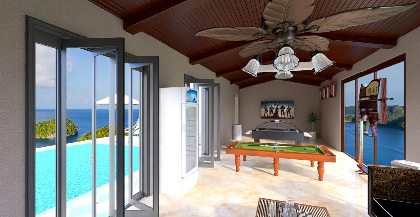 ClubHouse Interior Design Render