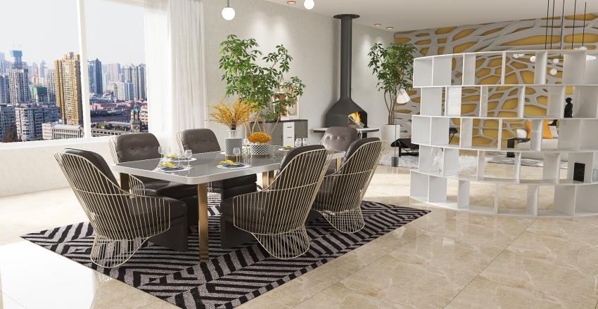 For the Love of Italian Design Interior Design Render
