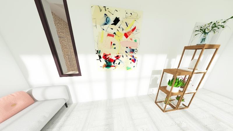 appartamento E Interior Design Render