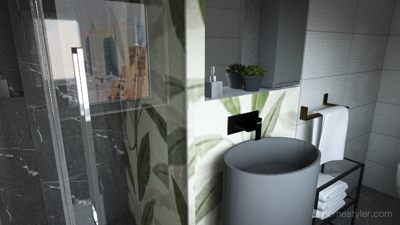 dani bath2 Interior Design Render