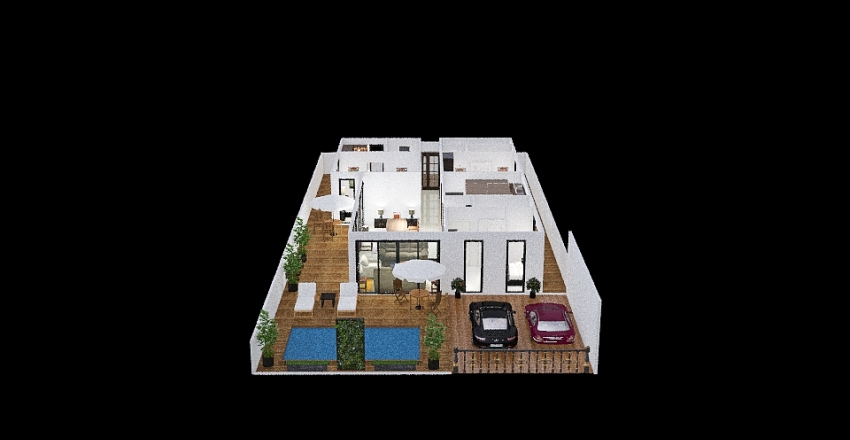 Our Thai House Interior Design Render