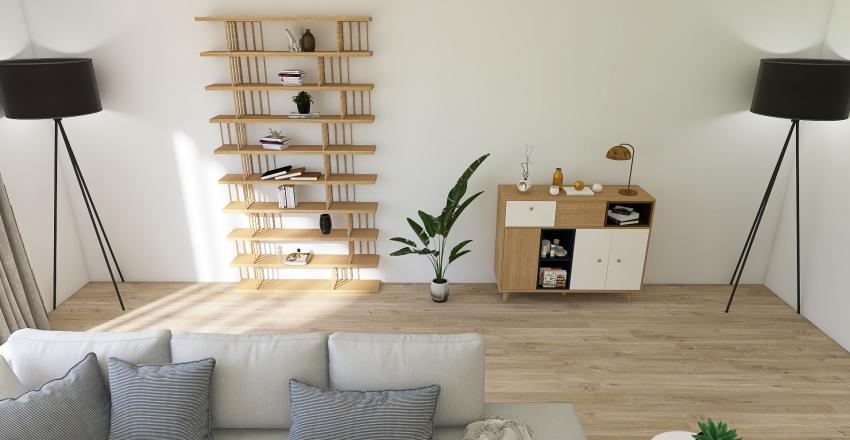 Tuengen allé 10 C, Vinderen, Oslo Interior Design Render