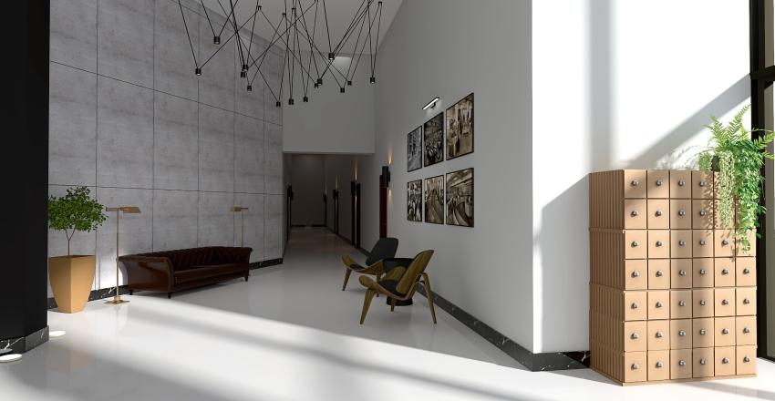 Altos del Libertador Interior Design Render