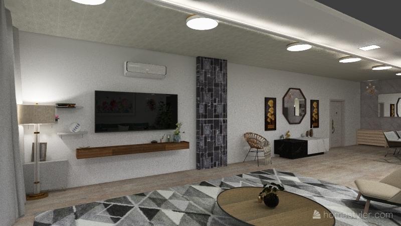 Degla apartment Interior Design Render