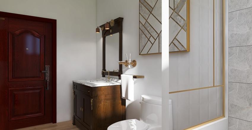 reforma baño algaidas Interior Design Render