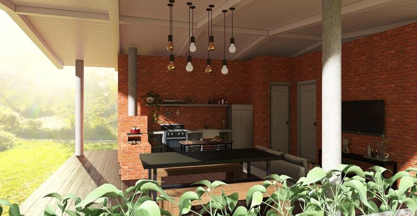 LOTE RIO DOS BOIS Interior Design Render