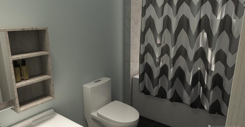 Cole's Condo Project Interior Design Render