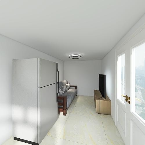 GARDEN OFFICE Interior Design Render