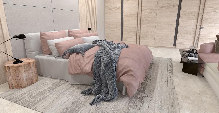 Apartamento dúplex con urbanización privada Interior Design Render