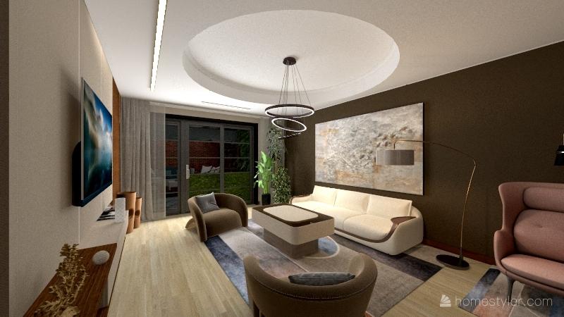 Proiect casa unifamiliala Interior Design Render