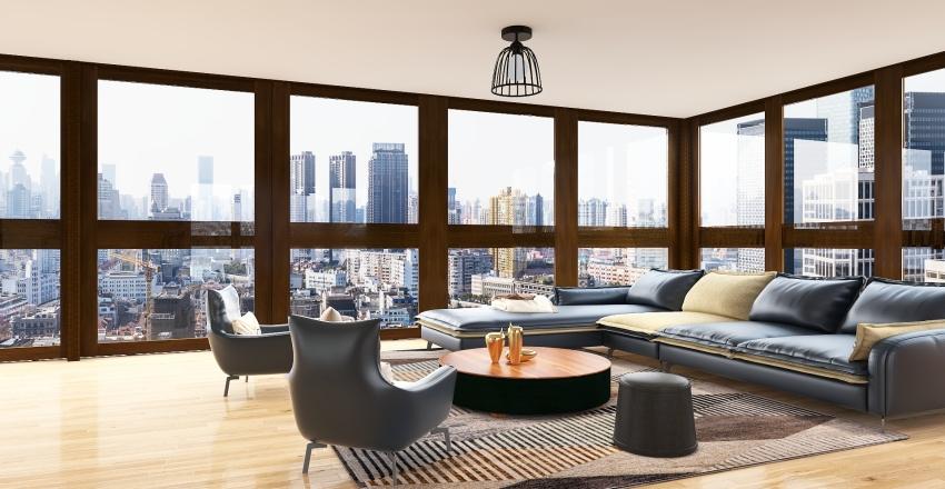 appartement avec balcon Interior Design Render