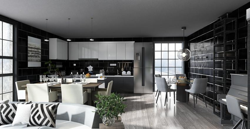 House no2 Interior Design Render