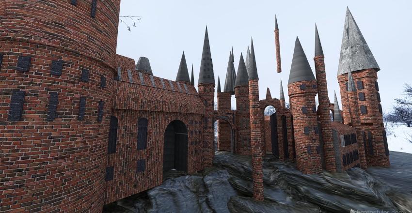 Harry Potter's Castle Interior Design Render