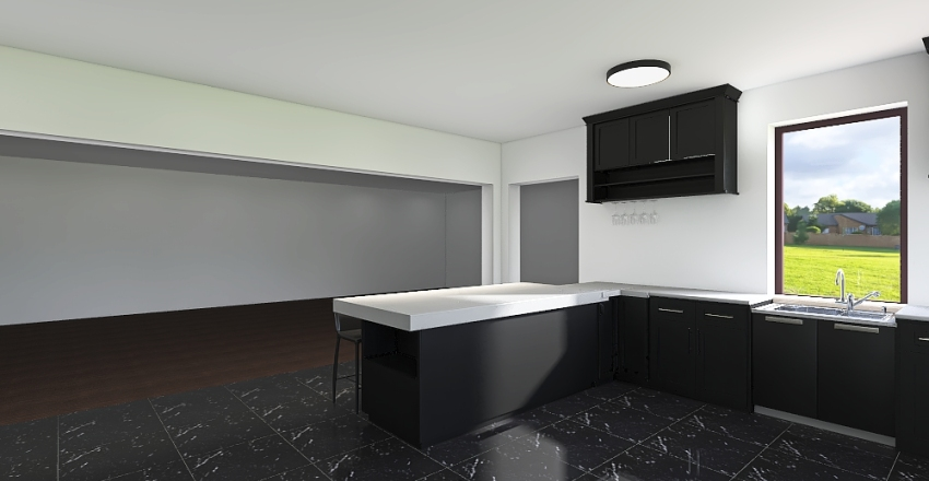 Dream Kitchen Interior Design Render