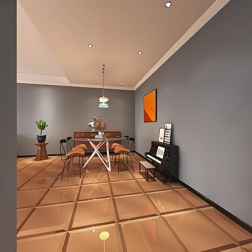 Pensadores de Dinero - Sede Principal Interior Design Render