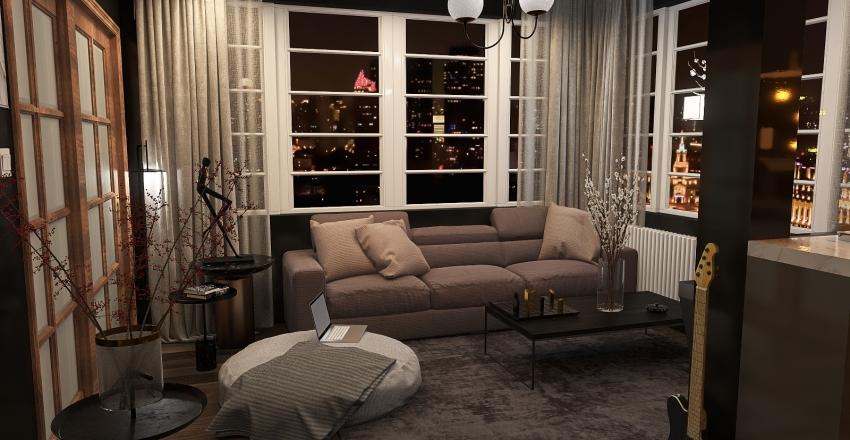 House no1 Interior Design Render