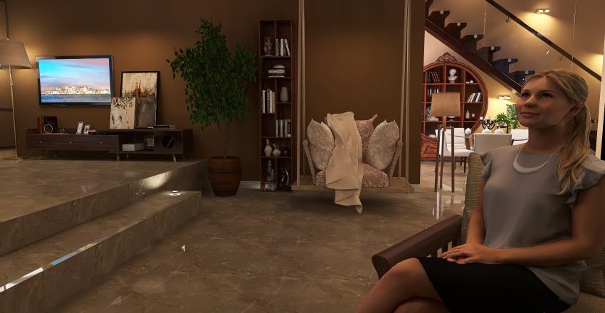 brawn home Interior Design Render