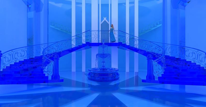 Elsa's Palace Interior Design Render