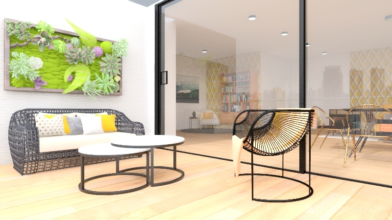 Departamento Bian Interior Design Render