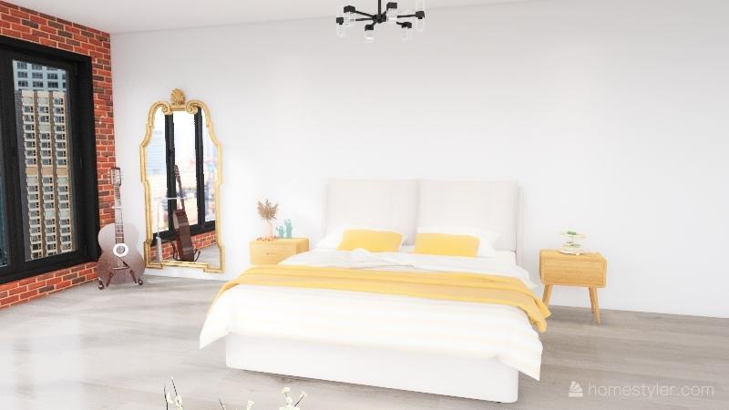 Katherine's Apartment Interior Design Render