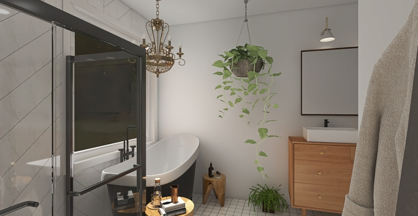woods Interior Design Render