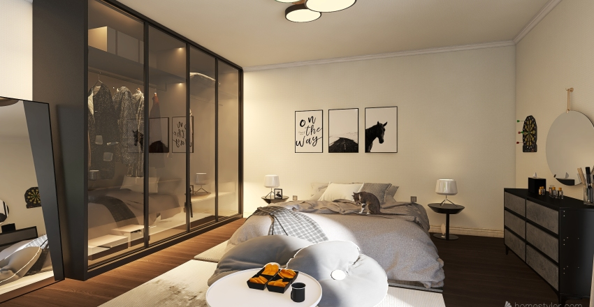 Bedroom classic  Interior Design Render