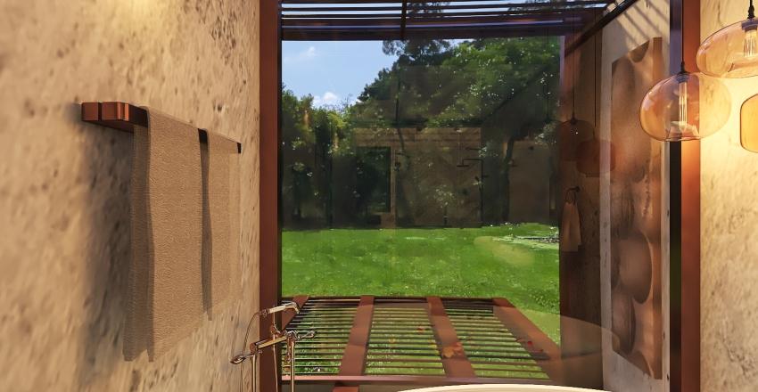 The Glass Box Interior Design Render