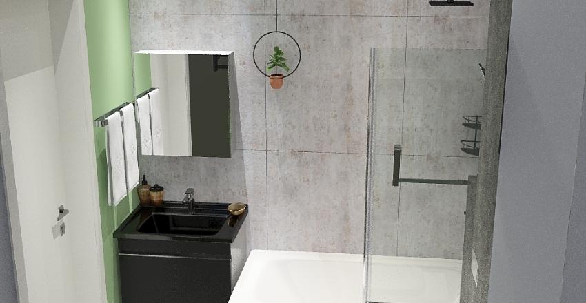 Sławcio łazienka Interior Design Render